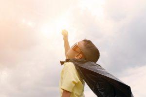 boy as superman