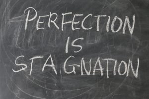 perfection is stagnation quote
